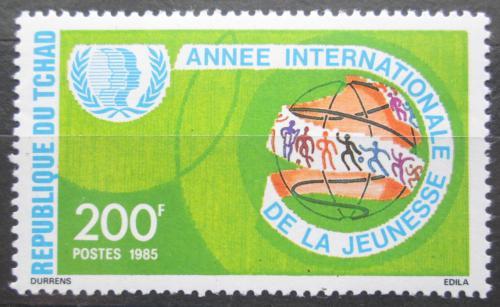 Poštovní známka Èad 1985 Mezinárodní rok mládeže Mi# 1109