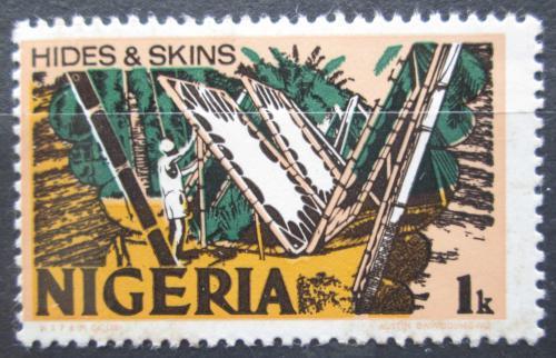 Poštovní známka Nigérie 1973 Úprava kùží Mi# 273 II Y
