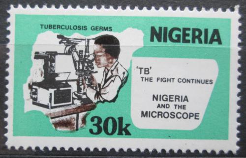 Poštovní známka Nigérie 1982 Boj proti tuberkulóze Mi# 394