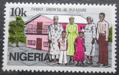 Poštovní známka Nigérie 1983 Den rodiny Mi# 408