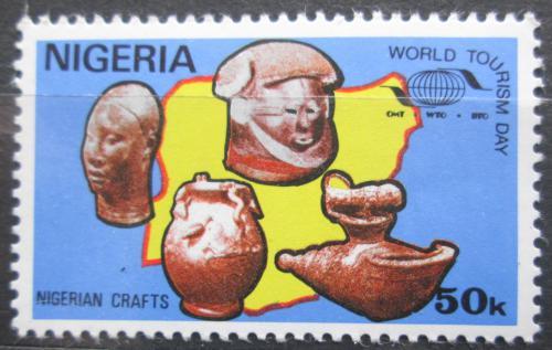 Poštovní známka Nigérie 1985 Svìtový den turistiky Mi# 464