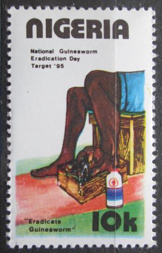 Poštovní známka Nigérie 1991 Boj proti drankulóze Mi# 565