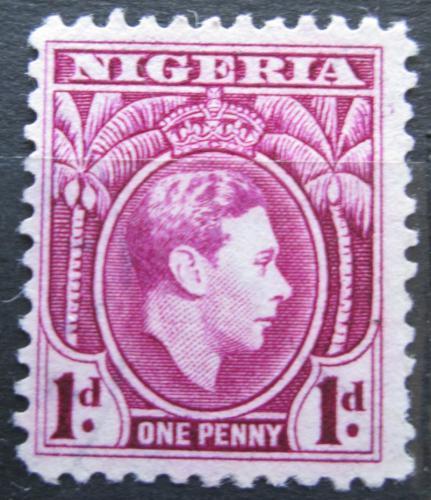 Poštovní známka Nigérie 1944 Král Jiøí VI. Mi# 48 A
