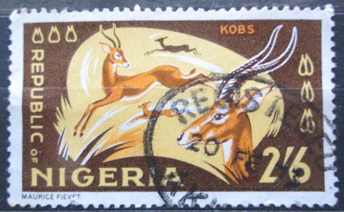 Poštovní známka Nigérie 1966 Voduška kob Mi# 185 A