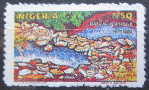 Poštovní známka Nigérie 1990 Pøírodní kamenný most Mi# B 546 A Kat 4€