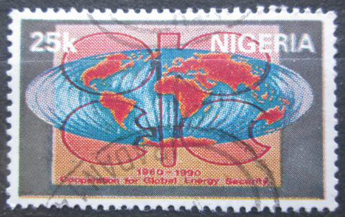 Poštovní známka Nigérie 1990 OPEC, 30. výroèí Mi# 559