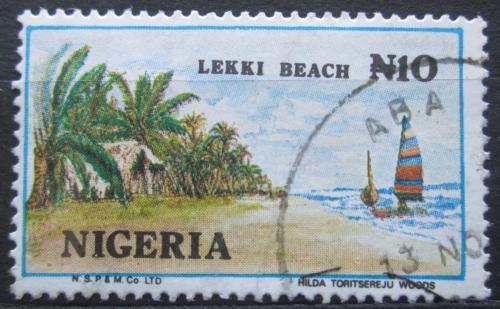 Poštovní známka Nigérie 1992 Pláž Lekki Mi# 606