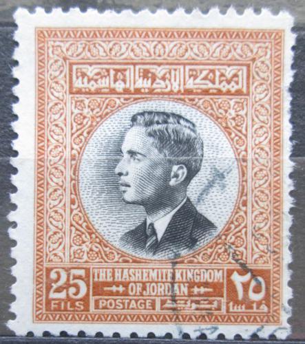 Poštovní známka Jordánsko 1959 Král Hussein II. Mi# 350