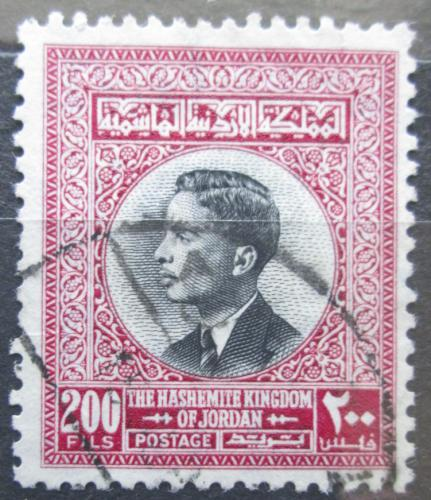 Poštovní známka Jordánsko 1959 Král Hussein II. Mi# 355