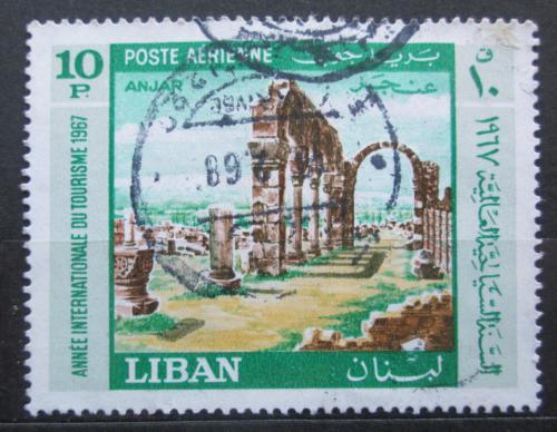 Poštovní známka Libanon 1967 Ruiny Anjar Mi# 993