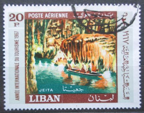 Poštovní známka Libanon 1967 Podzemní jezero Mi# 995