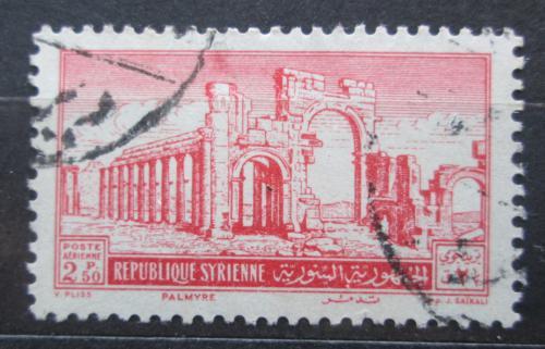 Poštovní známka Sýrie 1952 Palmýra Mi# 612