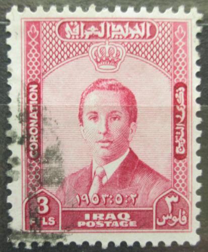 Poštovní známka Irák 1953 Král Faisal II. Mi# 164