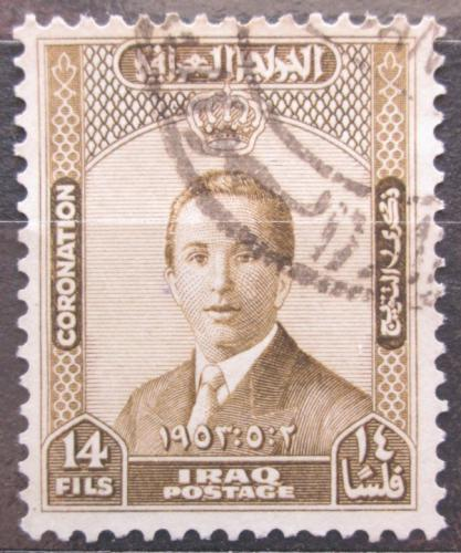 Poštovní známka Irák 1953 Král Faisal II. Mi# 165
