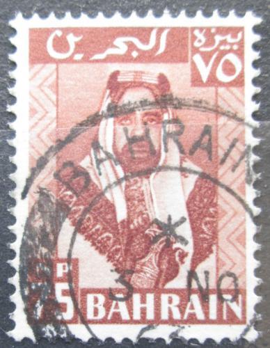 Poštovní známka Bahrajn 1960 Šejk Salman bin Hamed Al Chalifa Mi# 127