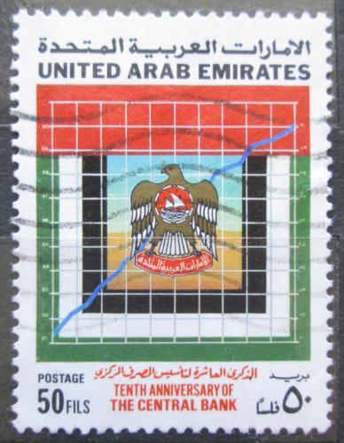 Poštovní známka S.A.E. 1990 Centrální banka, 10. výroèí Mi# 323
