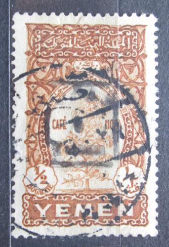 Poštovní známka Jemen 1947 Káva Mi# 47