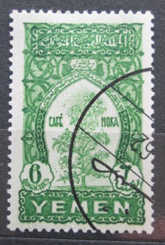 Poštovní známka Jemen 1958 Káva Mi# 52