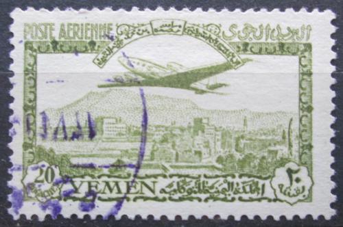 Poštovní známka Jemen 1947 Letadlo Mi# 57 Kat 10€