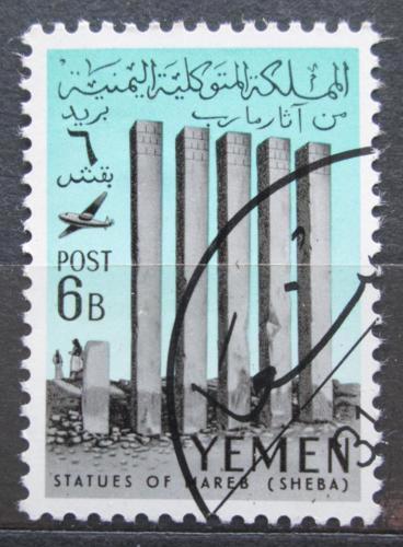 Poštovní známka Jemen 1961 Chrám Ilumgul Mi# 218