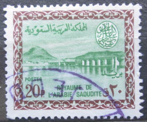 Poštovní známka Saudská Arábie 1961 Wadi Hanifah Mi# 82
