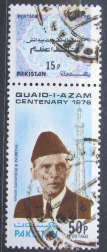 Poštovní známka Pákistán 1976 Mohammed Ali Jinnah Mi# 420,423