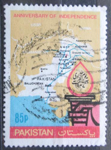Poštovní známka Pákistán 1982 Nezávislost, 35. výroèí Mi# 574