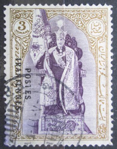 Poštovní známka Írán 1935 Rezá Šáh Pahlaví pøetisk Mi# 651 Kat 50€