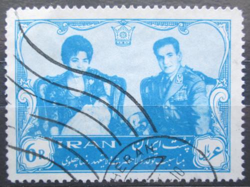 Poštovní známka Írán 1961 Císaøský pár Mi# 1100