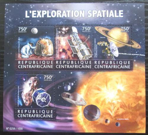 Poštovní známky SAR 2015 Prùzkum vesmíru Mi# 5875-78 Kat 14€