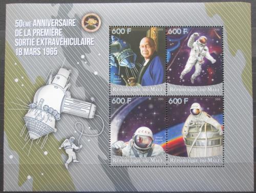 Poštovní známky Mali 2015 Alexej Leonov Mi# N/N