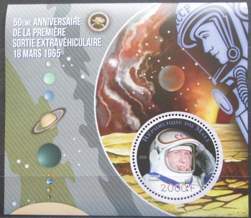 Poštovní známka Mali 2015 Alexej Leonov Mi# N/N