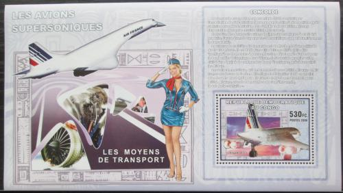 Poštovní známka Kongo Dem. 2006 Concorde DELUXE Mi# N/N