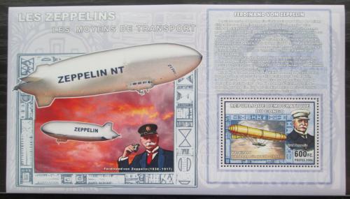 Poštovní známka Kongo Dem. 2006 Vzducholodì DELUXE Mi# N/N