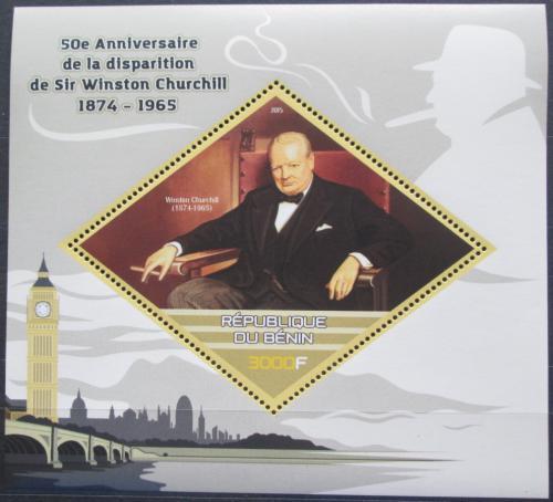 Poštovní známka Benin 2015 Winston Churchill Mi# N/N