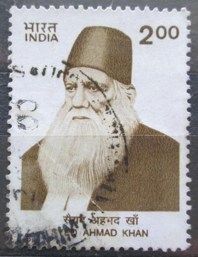 Poštovní známka Indie 1998 Syed Ahmad Khan, pedagog Mi# 1618