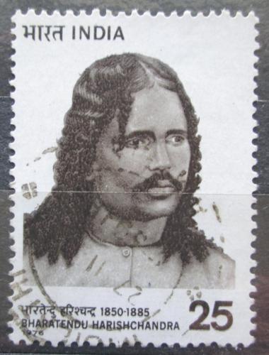 Poštovní známka Indie 1976 Bharatendu Harishchandra, básník Mi# 686