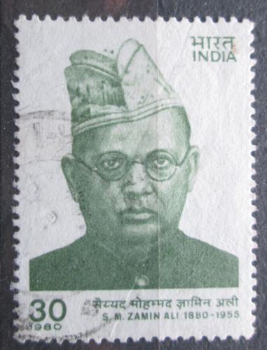 Poštovní známka Indie 1980 Syed Mohammed Zamin Ali Mi# 832