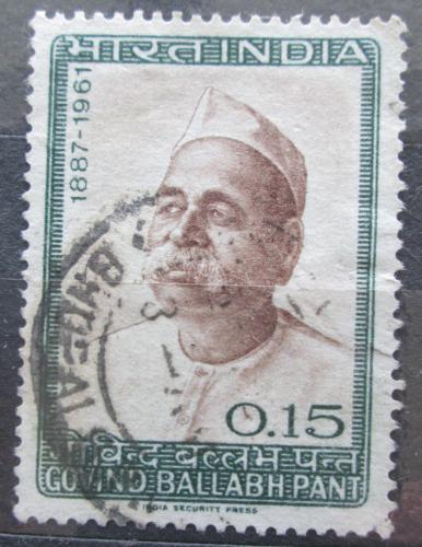 Poštovní známka Indie 1965 Pandit Govind Ballabh Pant, politik Mi# 401