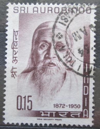 Poštovní známka Indie 1964 Schri Aurobindo Ghose Mi# 375