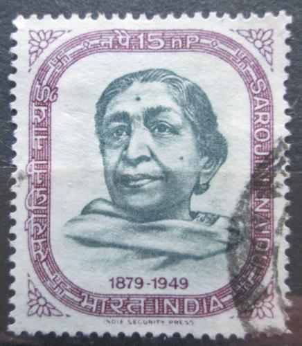 Poštovní známka Indie 1964 Sarojini Naidu Mi# 370
