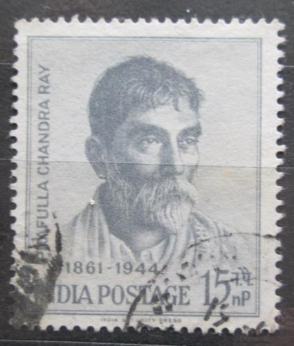 Poštovní známka Indie 1961 Prafulla Chandra Roy, chemik Mi# 327