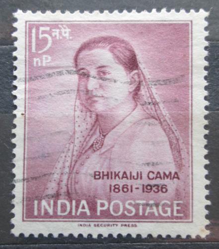 Poštovní známka Indie 1962 Bhikaiji Cama, politièka Mi# 337