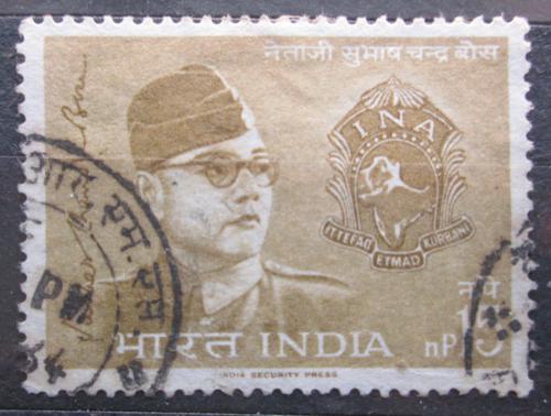 Poštovní známka Indie 1964 Subhas Chandra Bose Mi# 368