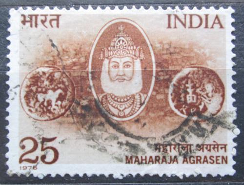 Poštovní známka Indie 1976 Maharaja Agrasen Mi# 690