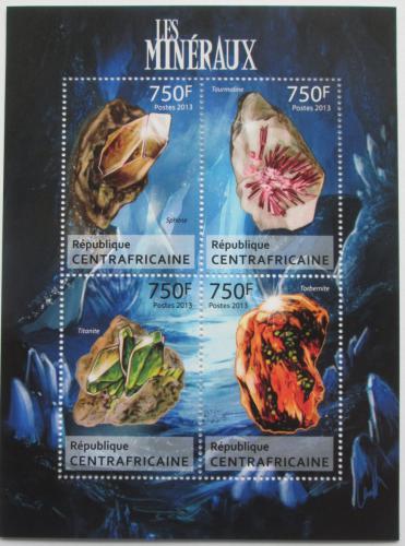 Poštovní známky SAR 2013 Minerály Mi# 4116-19 Kat 14€