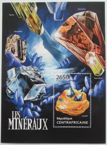Poštovní známka SAR 2013 Minerály Mi# Block 1037 Kat 12€