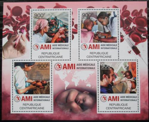 Poštovní známky SAR 2012 Mezinárodní lékaøská pomoc Mi# 3602-05 Kat 16€
