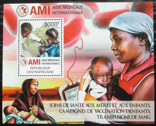 Poštovní známka SAR 2012 Mezinárodní lékaøská pomoc Mi# Block 936 Kat 14€