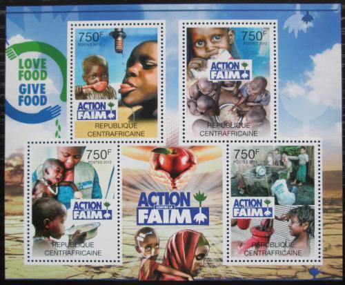 Poštovní známky SAR 2012 Boj proti hladu Mi# 3582-85 Kat 14€